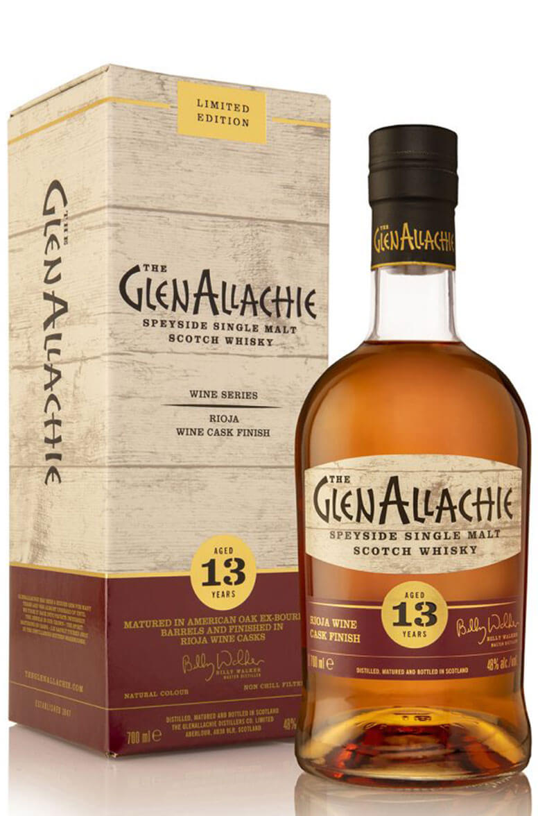 GlenAllachie 13 Year Old Rioja Cask Wine Finish