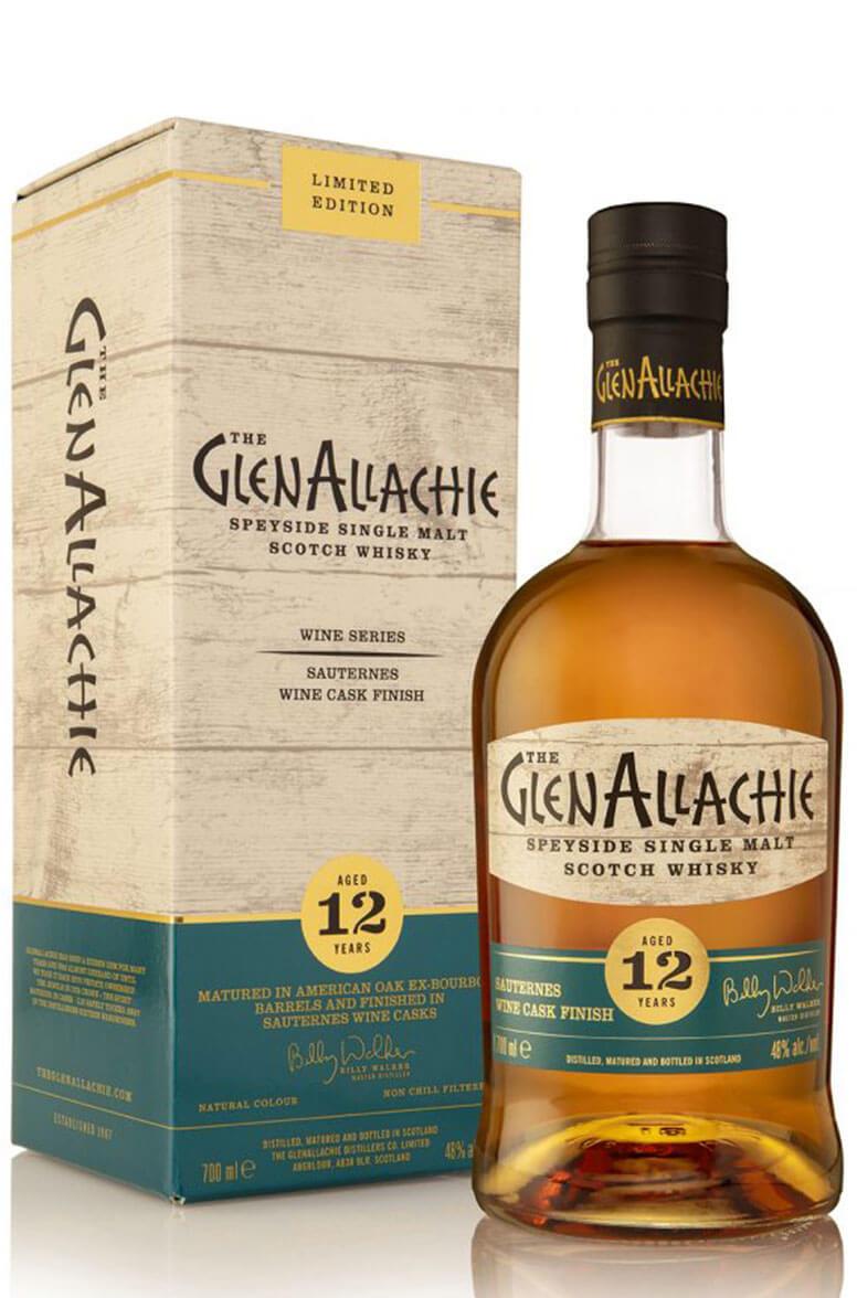 GlenAllachie 12 Year Old Sauternes Wine Cask Finish