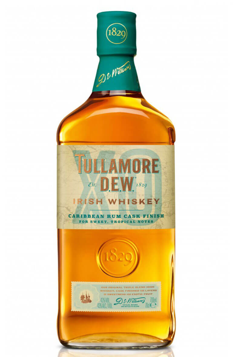 Tullamore Dew XO Caribbean Rum Cask Finish 70cl