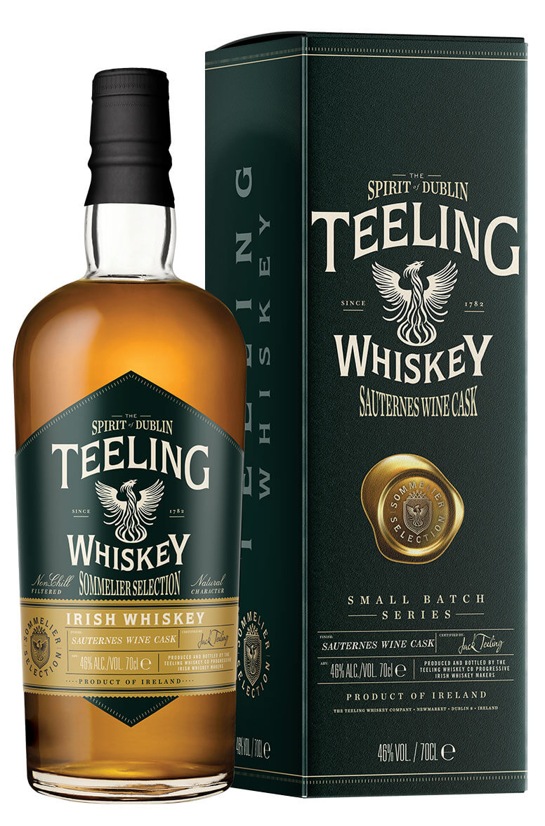 Teeling Sauternes Sommelier Selection Small Batch Series