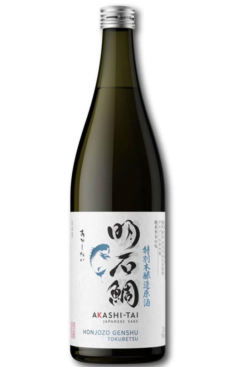 Akashi Tai Sake Honjozo Genshu Tokubetsu 19% 72cl