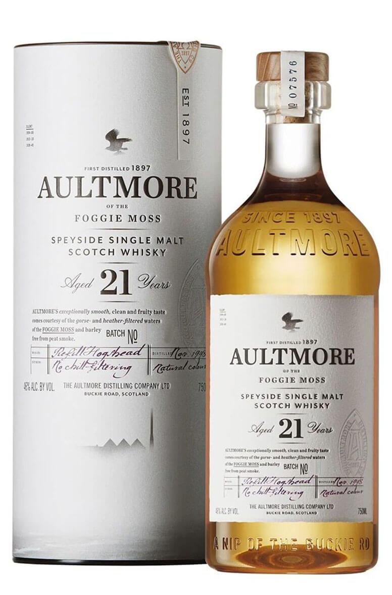 Aultmore 21 Year Old Single Malt
