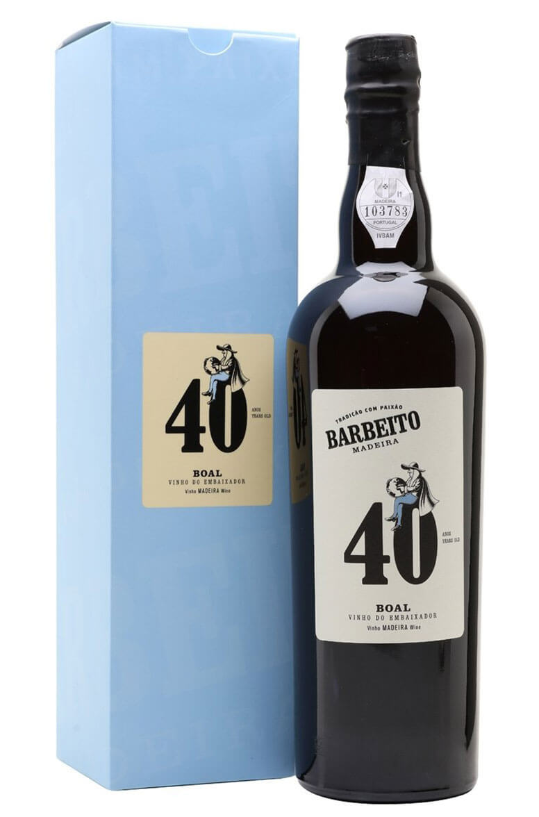 Barbeito Boal 40 Year Old 75cl Vinho do Embaixador