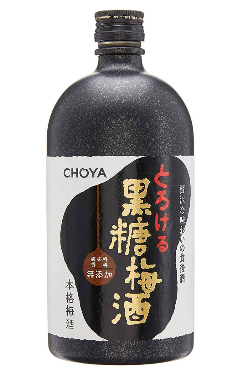 Choya Kokuto Umeshu 72cl