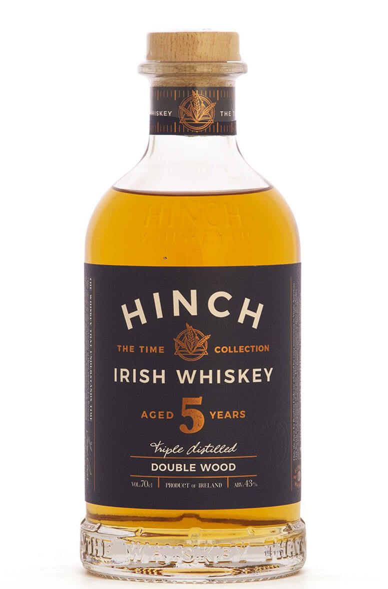 Hinch 5 Year Old Double Wood Irish Whiskey