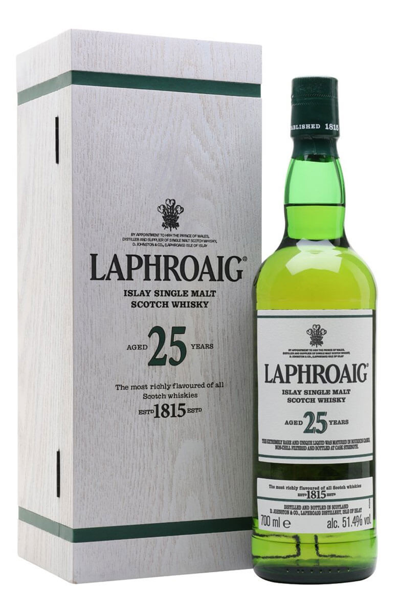 Laphroaig 25 Year Old Cask Strength 2019 Edition