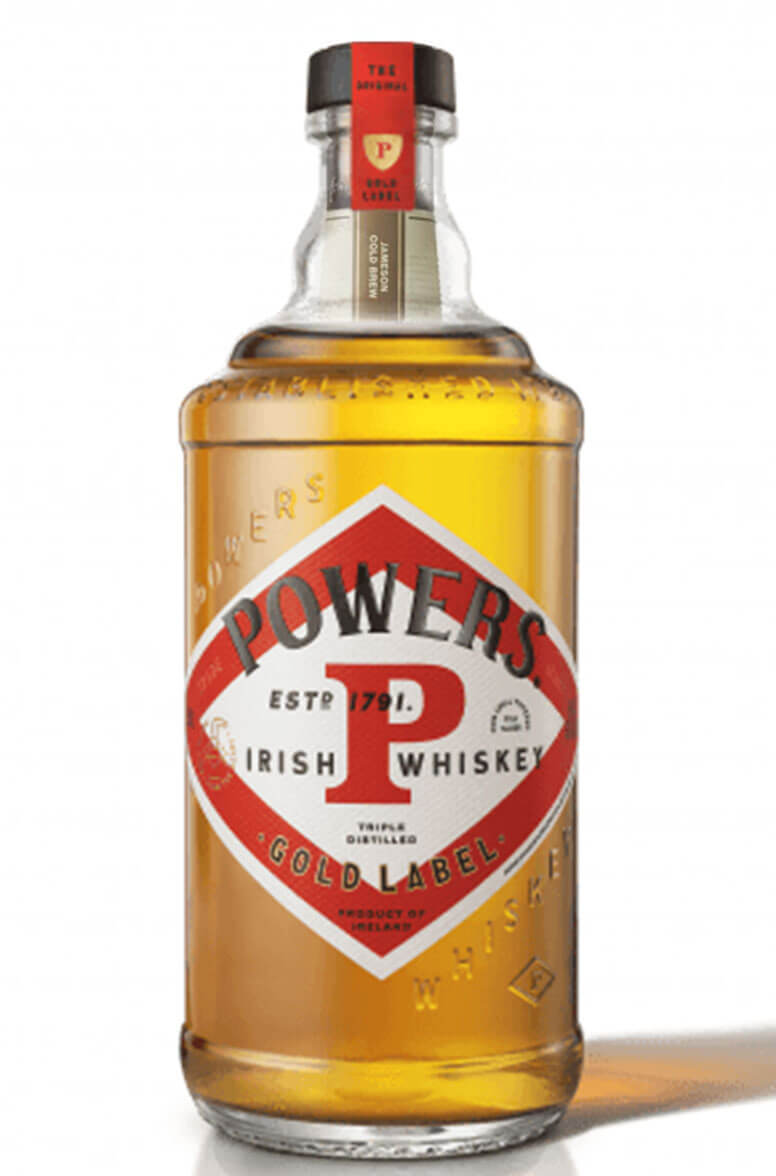 Powers Gold Label New Label