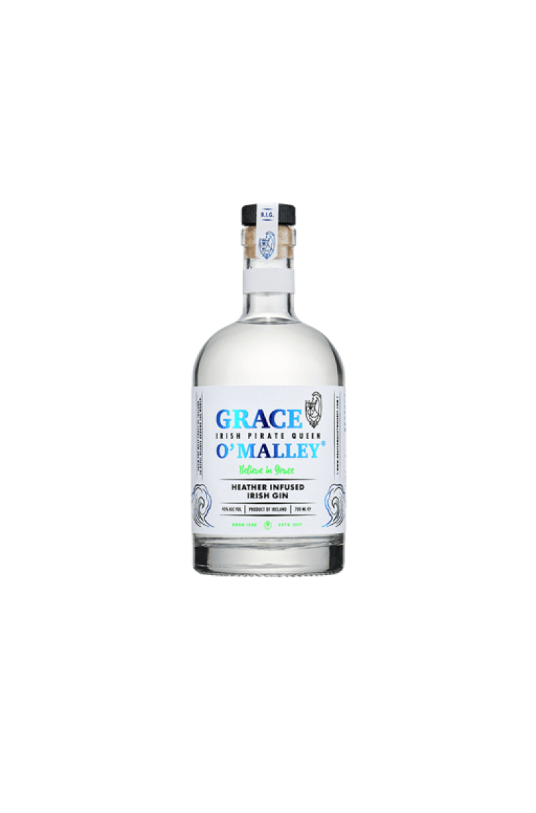 Grace O'Malley Heather Infused Gin