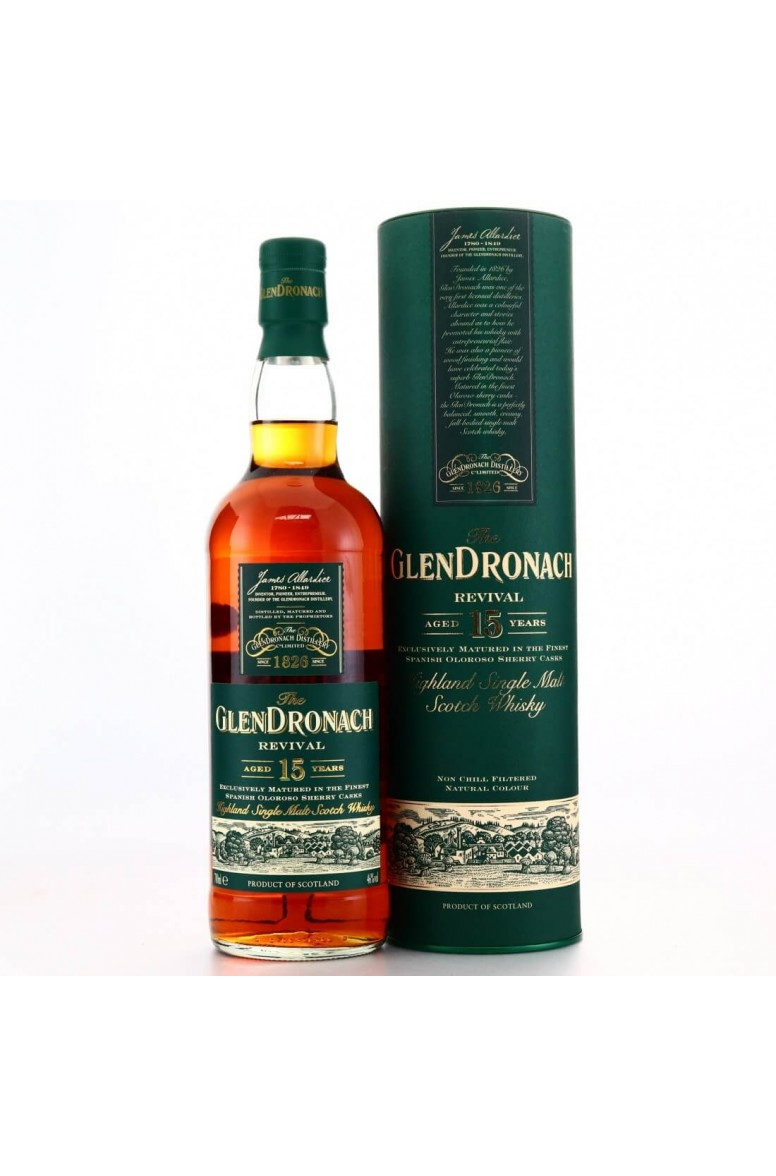 GlenDronach 15 Year-Old Revival