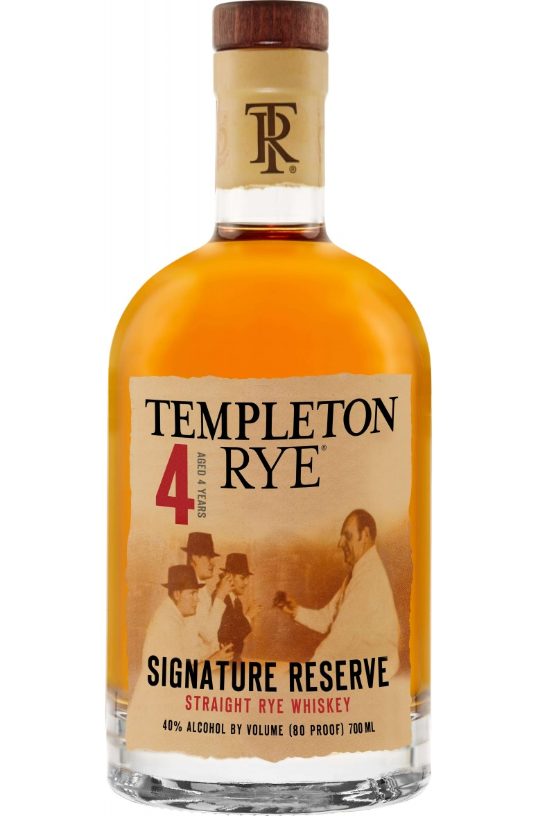 Templeton Rye Signature Reserve 4 Year Old