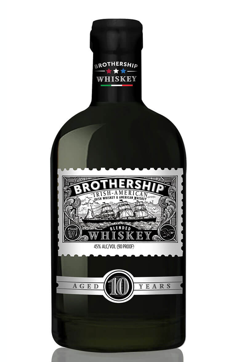 Brothership 10 Year Old Irish-American Whiskey