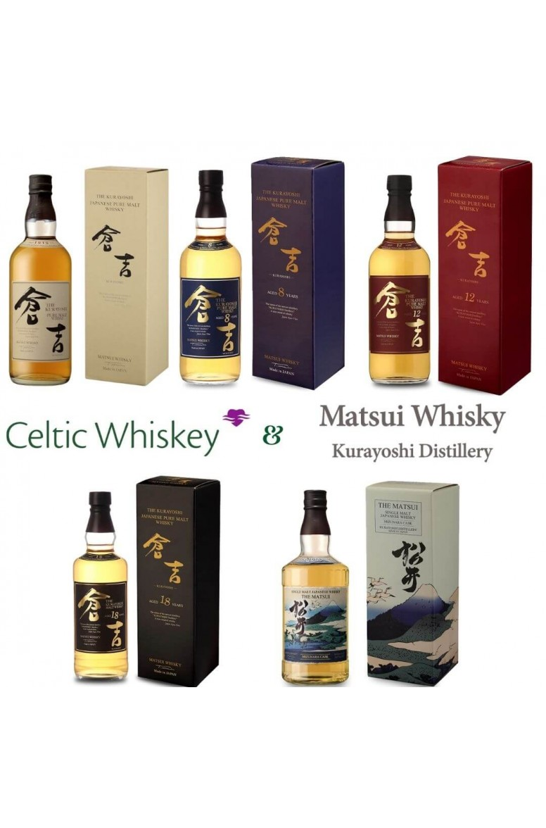 Kurayoshi Japanese Whisky Tasting Pack Inc. Delivery