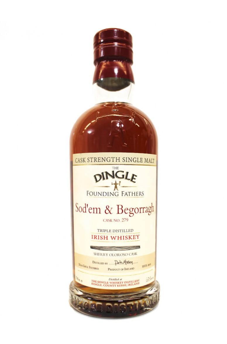 Dingle Founding Fathers Sod'em & Begorragh Sherry Cask #279