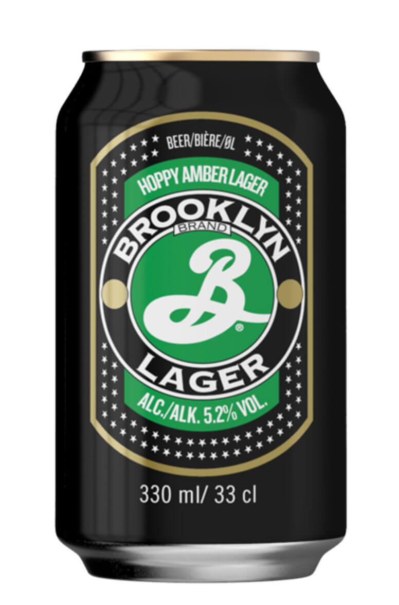 Brooklyn Lager 33cl Can