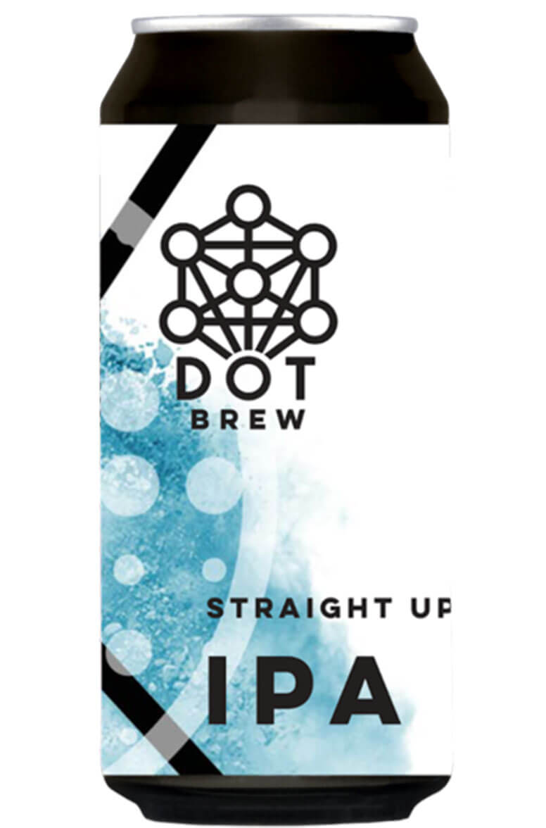 Dot Brewing Straight Up IPA 44cl Can