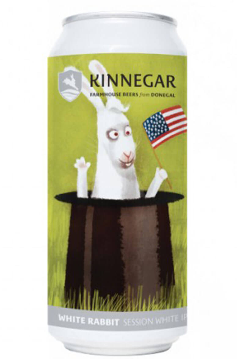 Kinnegar White Rabbit 44cl Can