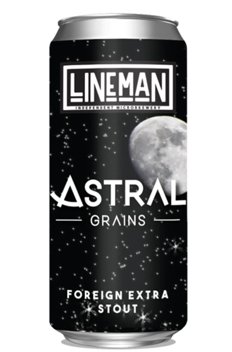 Lineman Astral Grains Foreign Extra Stout 44cl Can