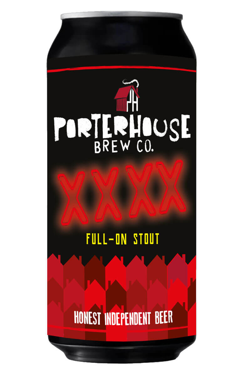 Porterhouse XXXX Stout 44cl Can