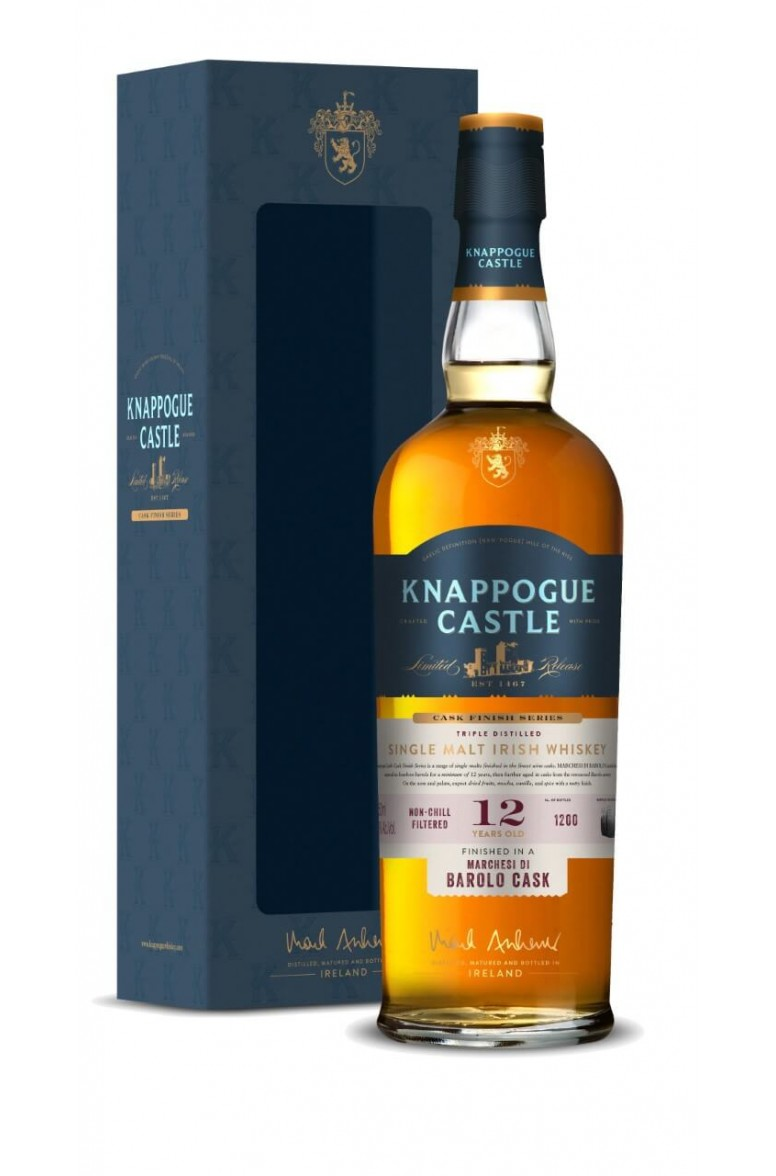 Knappogue Castle 12 Year Old Barolo Cask Finish