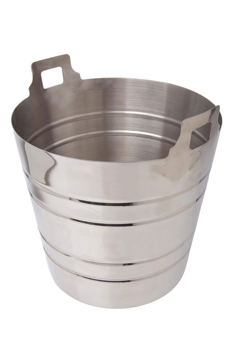 Stainless Steel Champagne Bucket- 5 litre