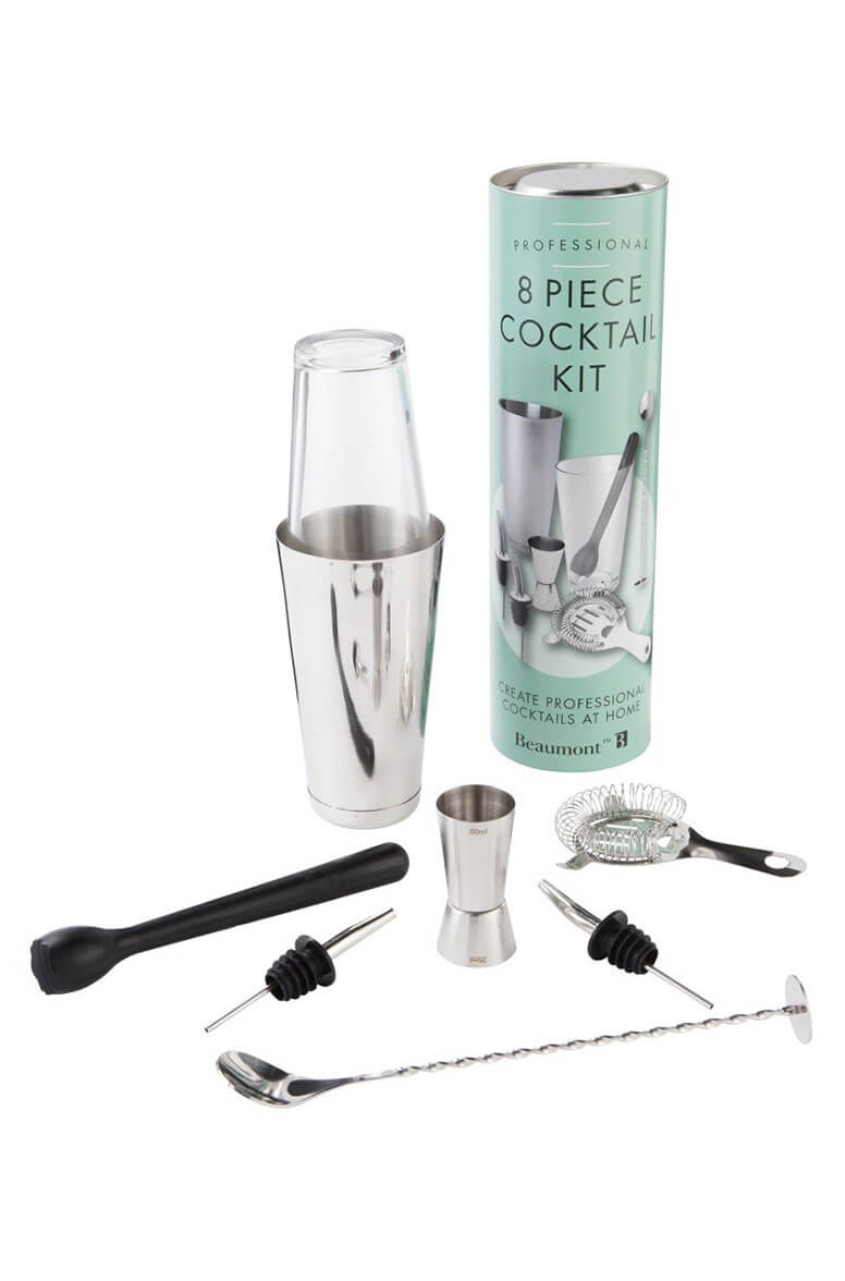 Cocktail Accessory Kit- 8 Piece