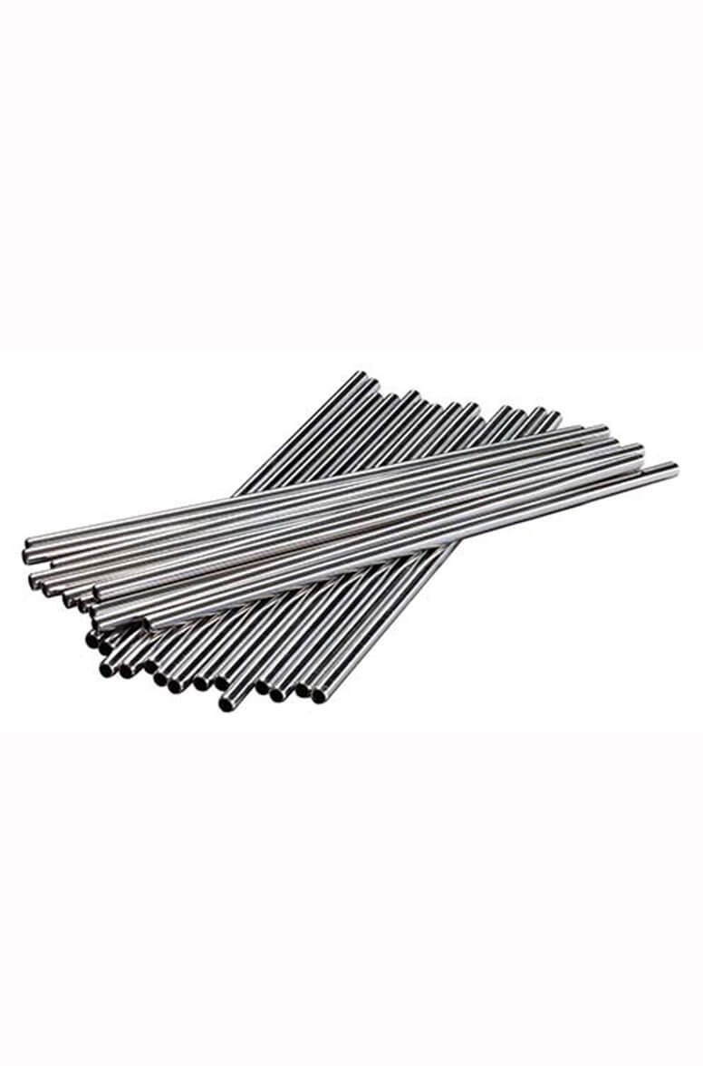 Metal Straws 8.5 Inch Pack 25