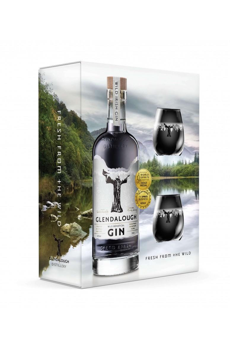 Glendalough Wild Botanical Gin Gift Set