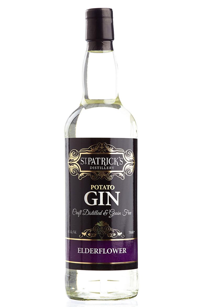 St Patrick's Elderflower Gin