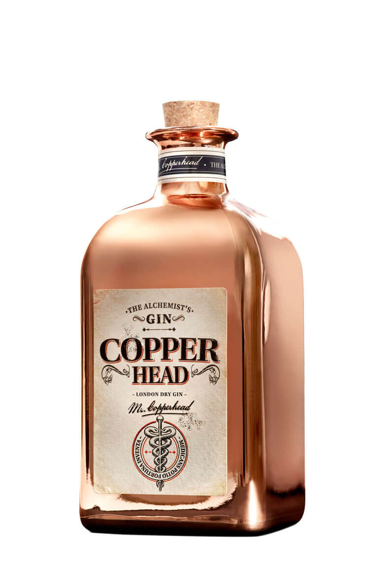 """The Alchemist"" Copperhead Gin"