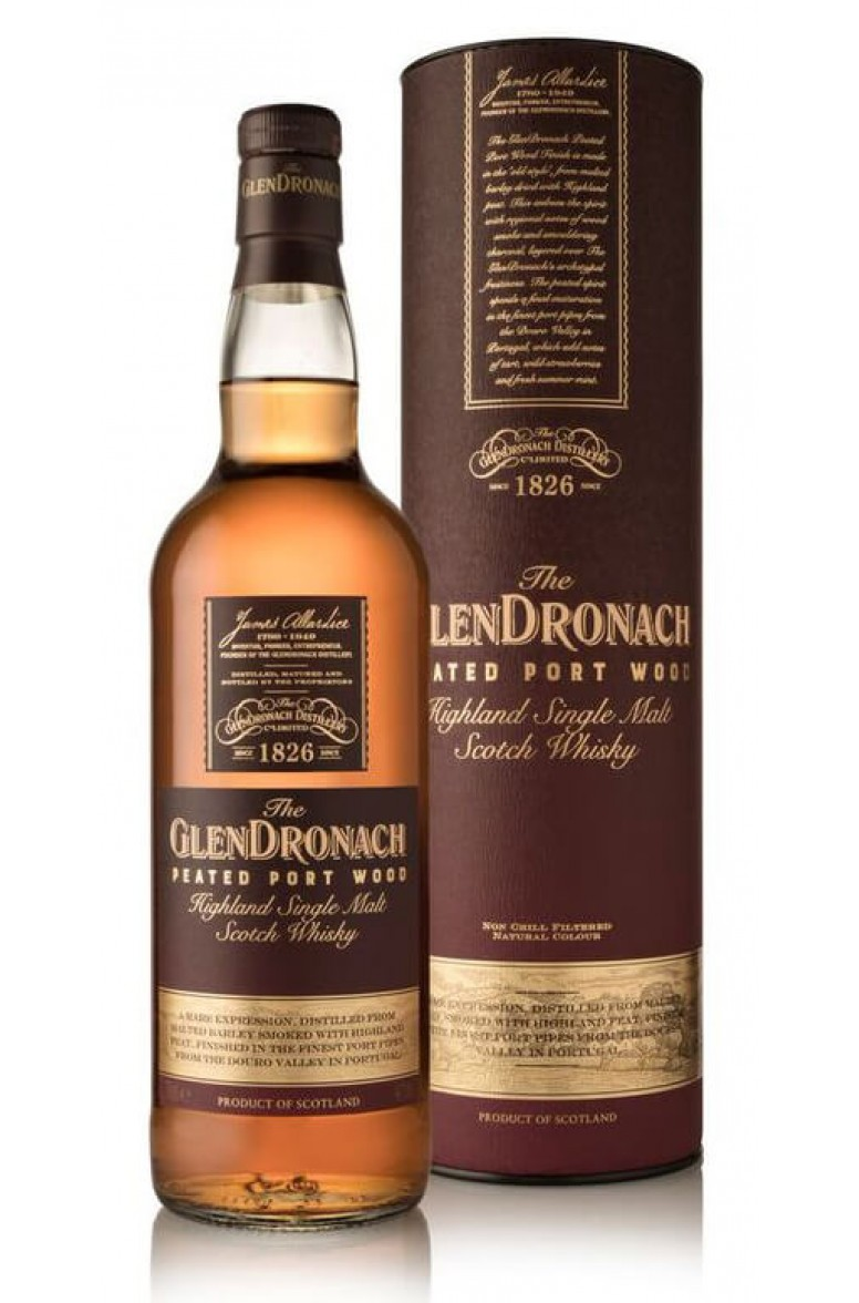 Glendronach Limited Release Peated Port Wood