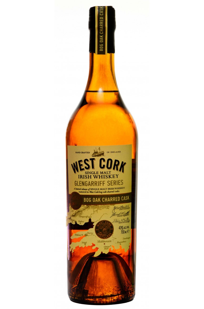 West Cork Glengarriff Bog Oak Cask