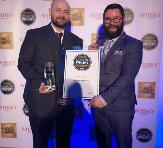 Celtic Whiskey Shop wins World's Best Single Outlet Retailer at Awards