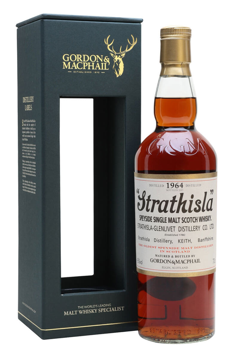 Strathisla 1964 Gordon and MacPhail Single Malt