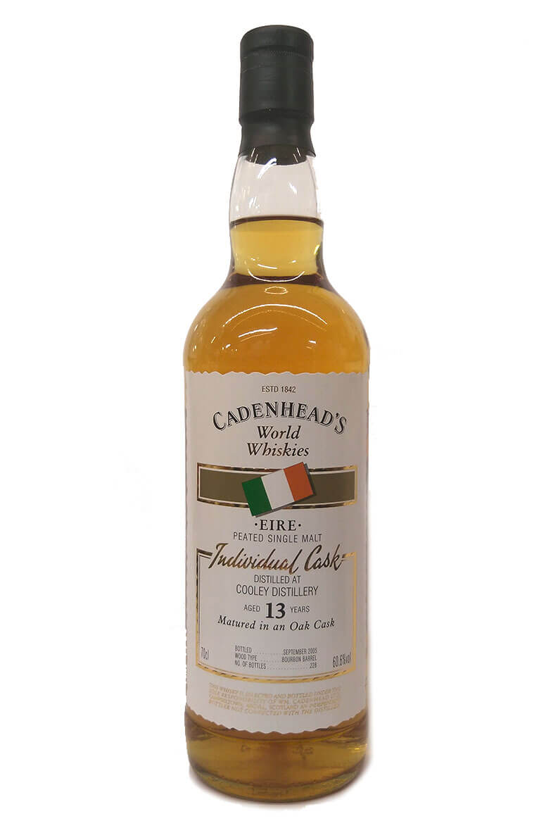 Cadenheads 13 Year Old Peated Cooley Single Malt