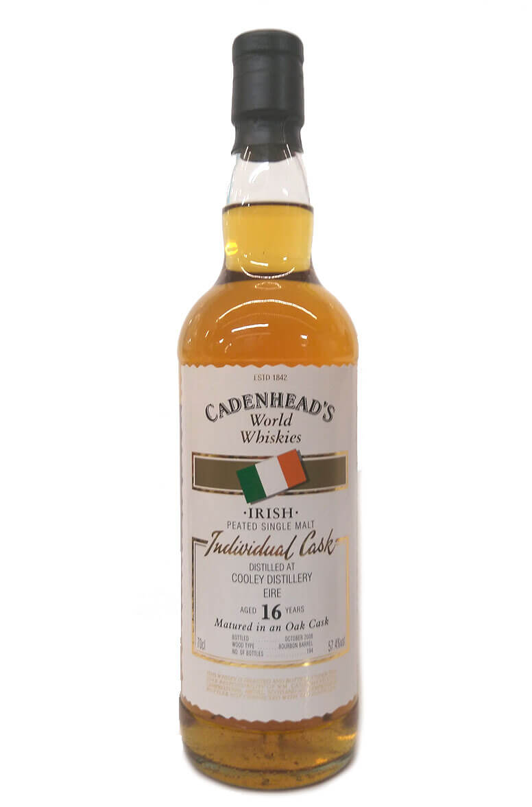 Cadenheads 16 Year Old Peated Cooley Single Malt