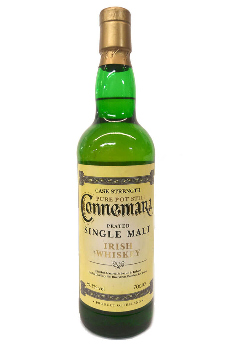 Connemara Cask Strength Older Label