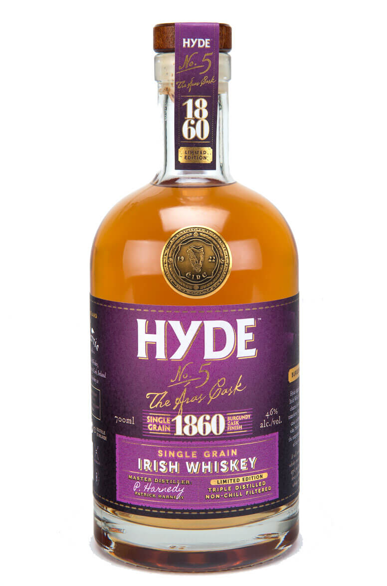 Hyde 1860 Single Grain Burgundy Finish