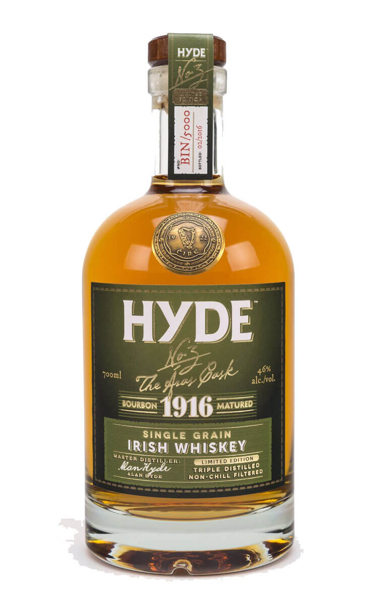 Hyde 1916 6 Year Old Grain Whiskey