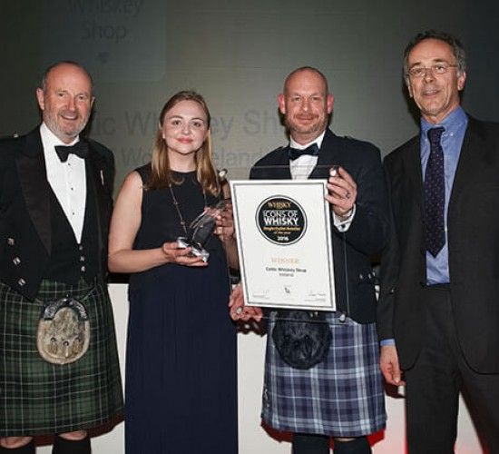 Celtic Whiskey Shop Wins Icons of Whisky Single Retail Outlet of the Year