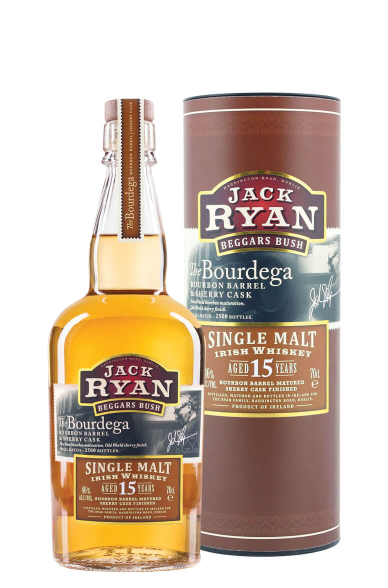Jack Ryan The Bourdega 15 Year Old Single Malt