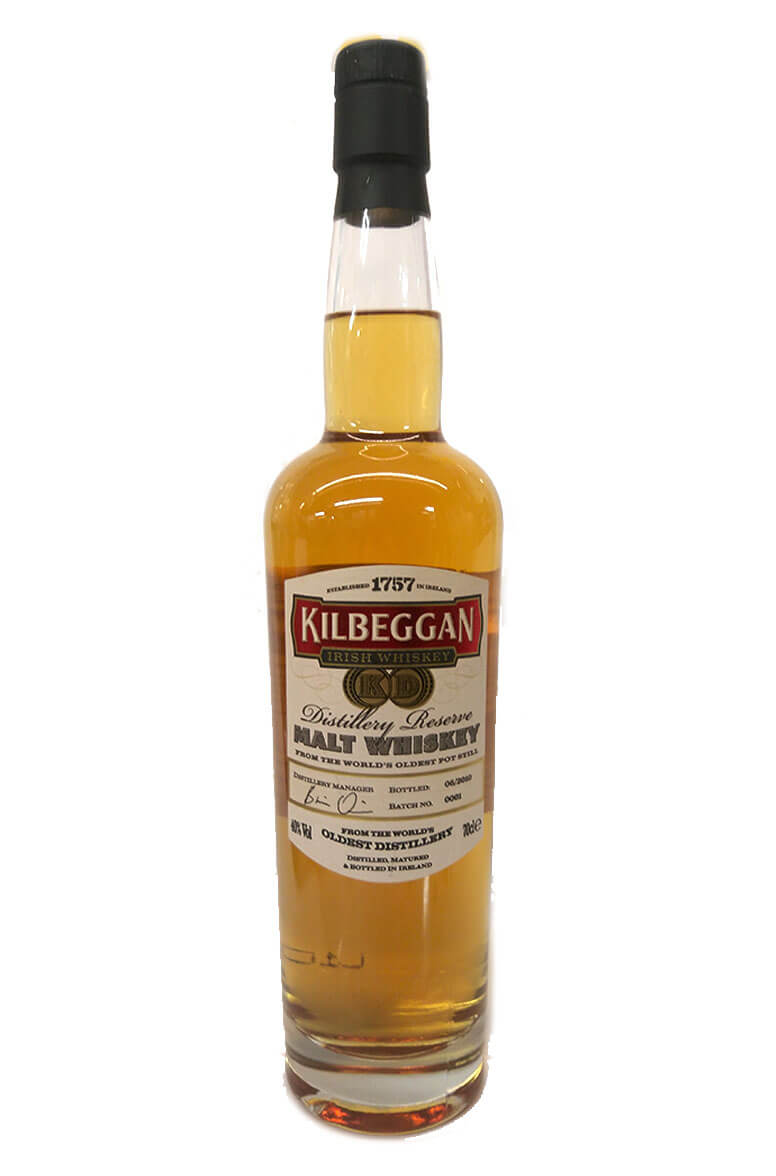 Kilbeggan Distillery Reserve Single Malt Batch 0001
