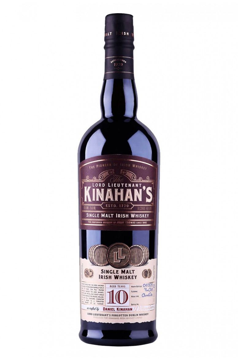 Kinahans Single Malt 10 Year Old