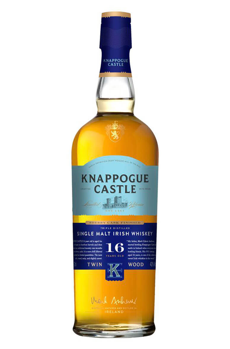 Knappogue Castle Sherry Finish 16 Year Old Single Malt