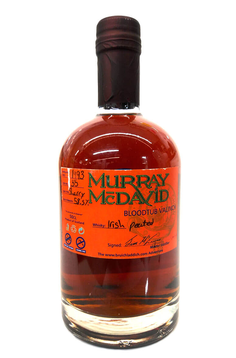 Murray McDavid Bloodtub Valinch 1993 Peated Irish Single Malt