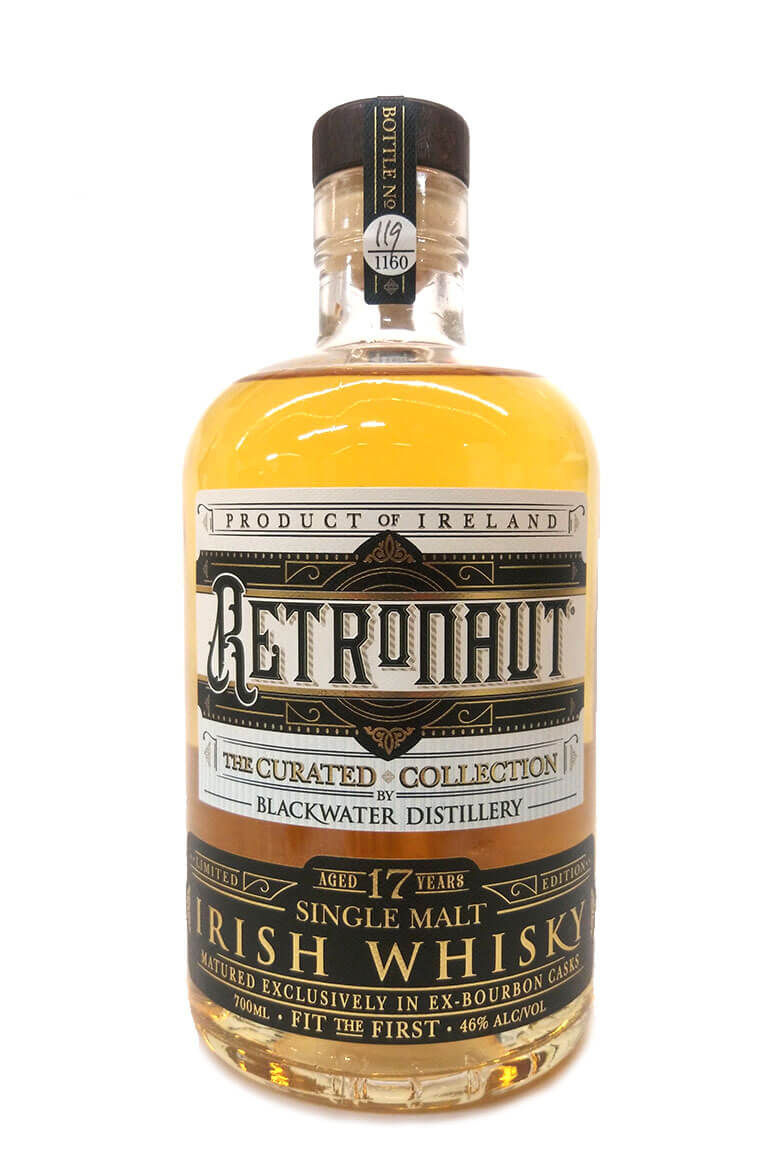 Retronaut 17 Year Old Irish Single Malt Whisky