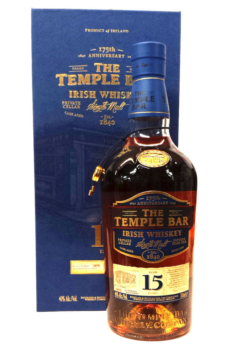 Temple Bar 15 Year Old Single Malt