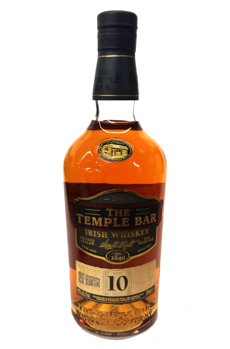 The Temple Bar 10 Year Old Single Malt