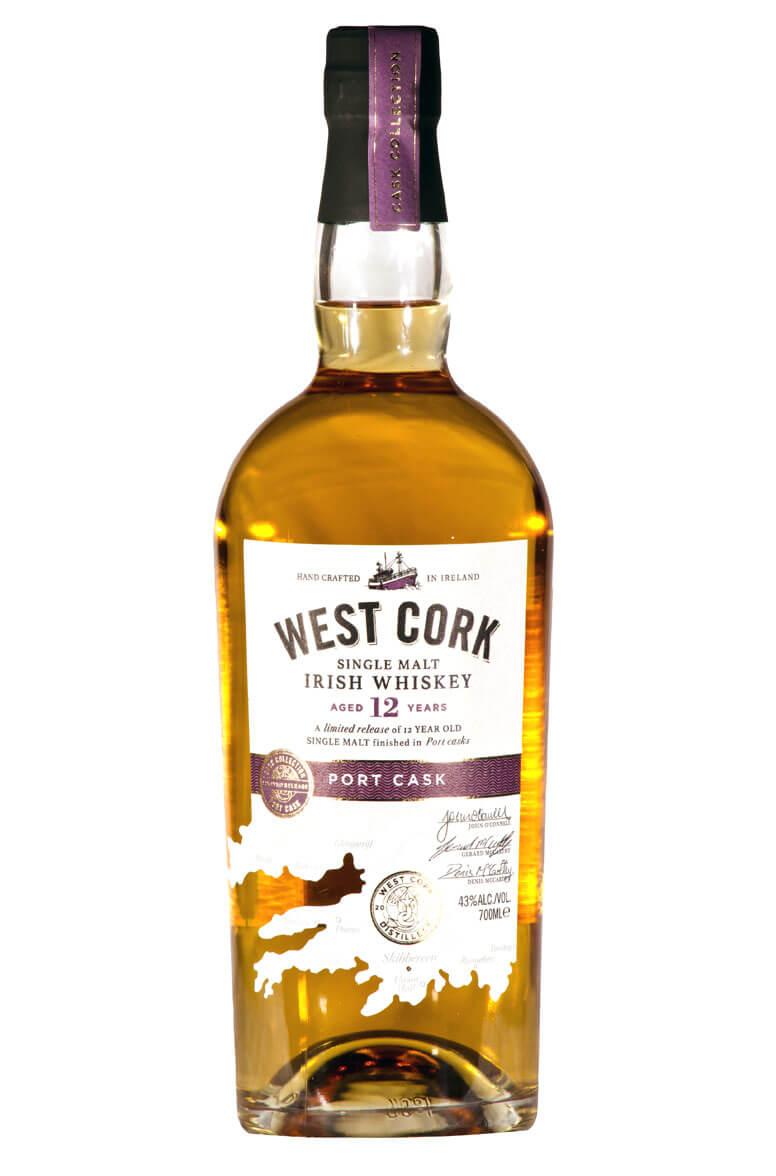 West Cork 12 Year Old Port Cask Finish