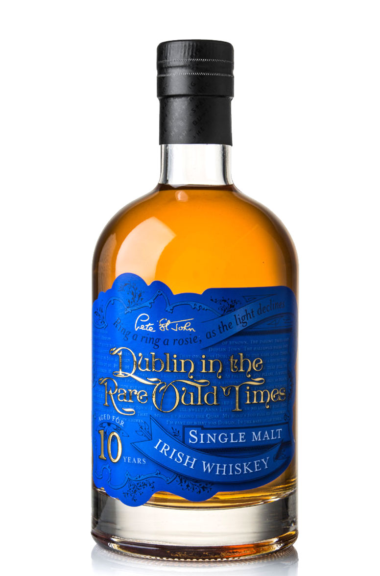Dublin in the Rare Ould Times 10 Year Old Single Malt