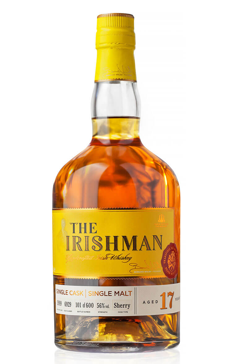 Irishman 17 Year Old Single Sherry Cask
